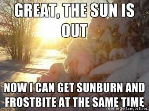 Cold Outside Meme Deep Creek Times