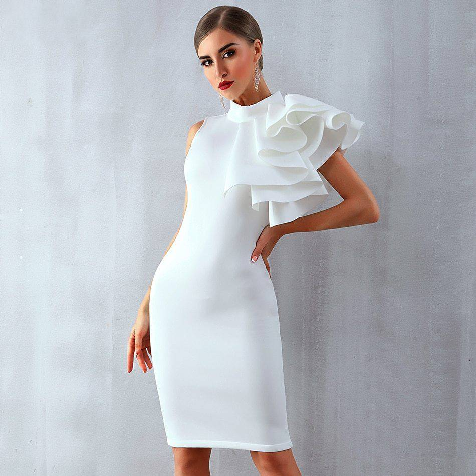 Midi Bodycon Bandage Dress