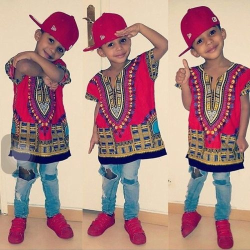 Kids Dashiki T-shirts