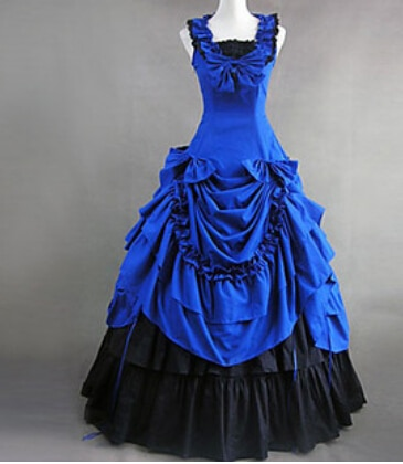 Ball Gown Victorian Dresses