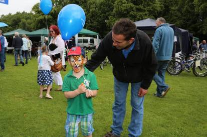 Lightwater Fete 2013 - Alan Meeks and Mike Hillman (39)