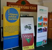 Citizens Advice Surrey Heath Charity Golf Day 2014 - Alan Meeks and Mike Hillman (48)