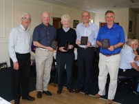 Citizens Advice Surrey Heath Charity Golf Day 2014 - Alan Meeks and Mike Hillman (77)