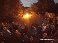 Pine Ridge Golf Club Fire Walk 2015 - Paul Deach - 3
