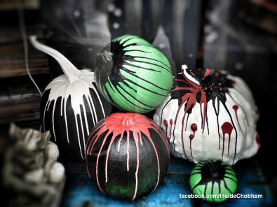Chalk Paint Pumpkins at Inside Chobham 23