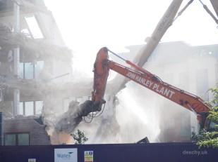 Pembrook House - Demolition - Camberley - Paul Deach 1