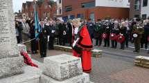 Surrey Heath Remembrance Parade 201511