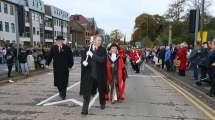 Surrey Heath Remembrance Parade 201515