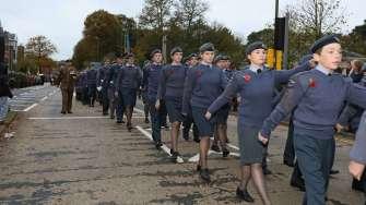 Surrey Heath Remembrance Parade 201522