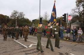 Surrey Heath Remembrance Parade 201523