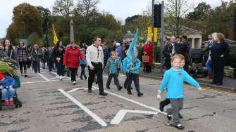 Surrey Heath Remembrance Parade 201527