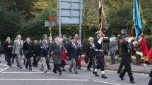 Surrey Heath Remembrance Parade 201540