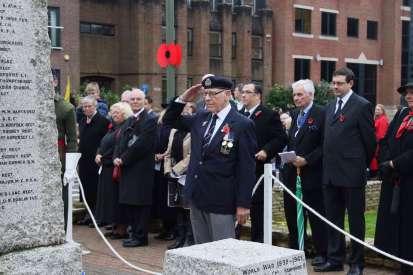 Surrey Heath Remembrance Parade 201555