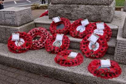 Surrey Heath Remembrance Parade 201562