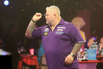 Lakeside BDO Darts 2 Jan 2016 - Alan Meeks 45