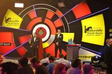 Lakeside BDO Darts 2 Jan 2016 - Alan Meeks 9