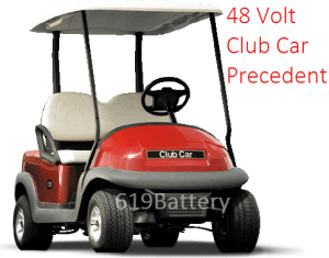 Club Car Precedent Battery Replacement  Deep Cycle Battery Store