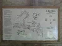 Cenote Chikin Ha - Mapa del buceo en caverna