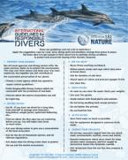 Charte Internationale du Plongeur Responsable - Anglais - Longitude 181Nature