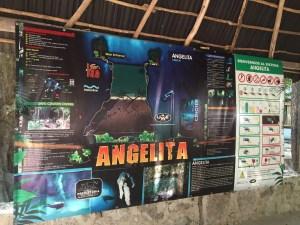 Map of Cenote Angelita