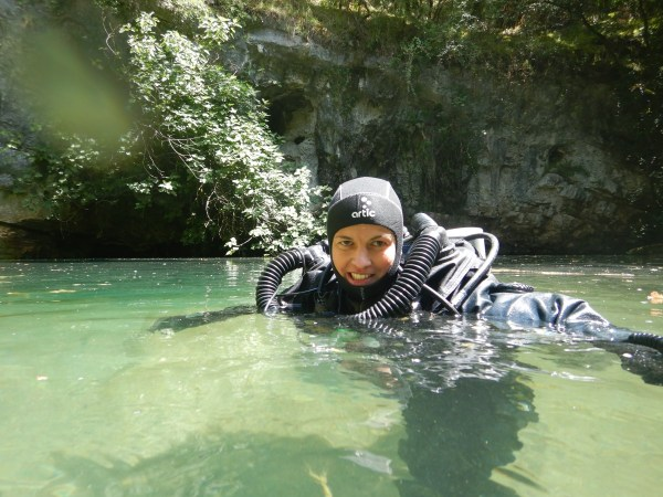 Cave Diving - France