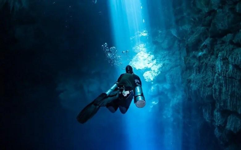 Buceo en Sidemount en el Pit