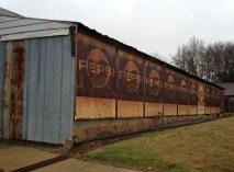 Pepsi Bottling plant in Monticello, Arkansas