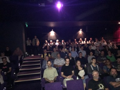 Audience at World Premiere Melbourne