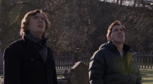 "Steve Coogan and Rob Brydon in ""The Trip""."
