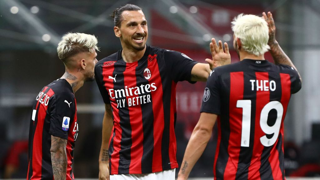 ac milan back on top of serie A