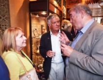 Peggy Machell, David Mills and Peter Harrigan of Medina Publishing