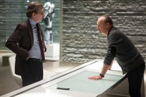 Gary Oldman;Michael Keaton; RoboCop
