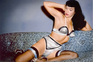 Bettie Page in Mark Mori's BETTIE PAGE REVEALS ALL (Music Box Films)