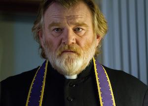 "Brendan Gleeson as ""Father James"" in CALVARY. Photo by Jonathon Hession."