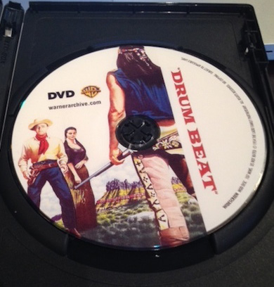 Drum Beat starring Alan Ladd and Charles Bronson (Warner Archive)