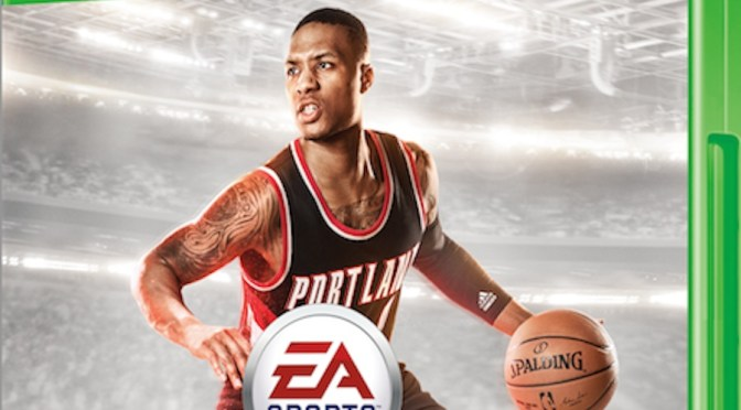 Damian Lillard Named NBA Live 15's Cover Athlete
