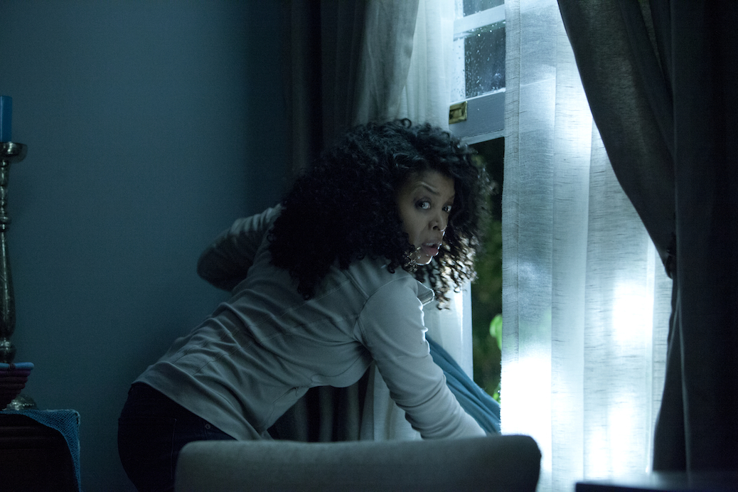 "Taraji P. Henson's ""No Good Deed"" Scares Came From Creepy House"