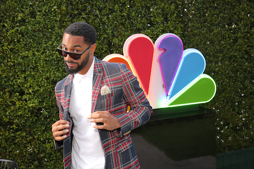 """NBCUNIVERSAL EVENTS -- The NBC Emmy Party -- Pictured: Tone Bell, """"Bad Judge"""" at Boa Steakhouse, West Hollywood, Calif., August 24, 2014 -- (Photo by: Chris Haston/NBC)"""