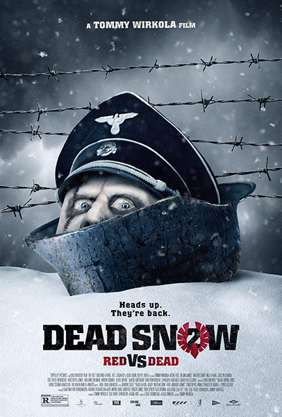 Dead Snow 2: Red vs. Dead poster - Well Go USA