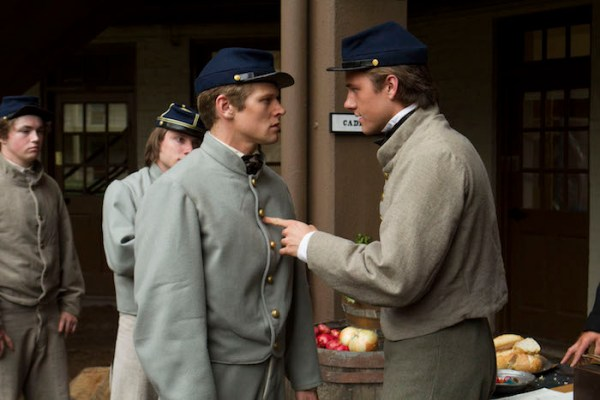 """Zach Roerig as Jack Stanard and Luke Benward as John Wise in the historical drama """"FIELD OF LOST SHOES"""" a Bosch Media release.  Photo courtesy of Bosch Media."""