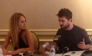 Juno Temple, Daniel Radcliffe - 'Horns' Press Conference