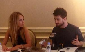 Juno Temple, Daniel Radcliffe - 'Horns' Press Conference