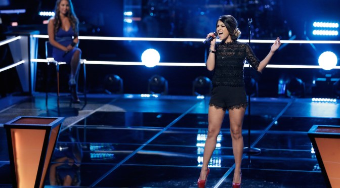'The Voice's' Mia Pfirrman Advances To Live Playoffs With 'Human' Performance