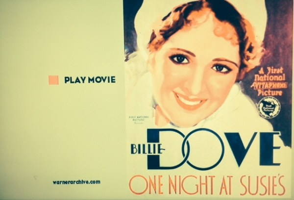 One Night At Susie's - Warner Archive
