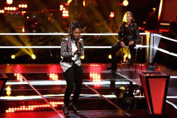 "THE VOICE -- ""Knockout Rounds"" -- Pictured: (l-r) Anita Antoinette, Craig Wayne Boyd -- (Photo by: Tyler Golden/NBC)"