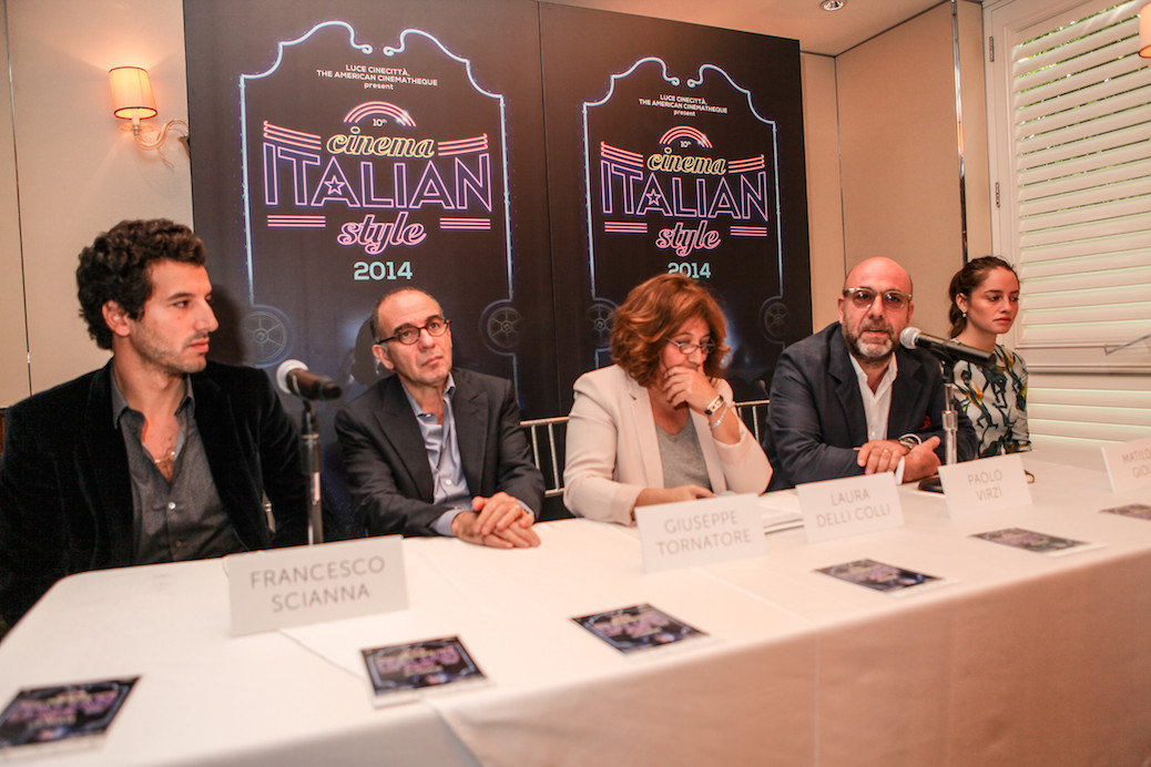 'Cinema Paradiso' Director Giuseppe Tornatore Talks Love Stories & Cinema