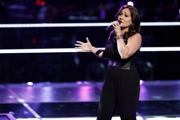 "THE VOICE -- ""Knockout Rounds"" -- Pictured:  DaNica Shirey -- (Photo by: Tyler Golden/NBC)"