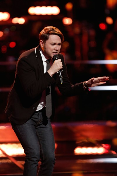 "THE VOICE -- ""Knockout Rounds"" Pictured:   Luke Wade -- (Photo by: Tyler Golden/NBC)"