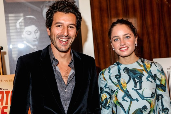 Francesco Scianna, Matilde Gioli - Mr. C Beverly Hills, Press Conference (Kika Press)