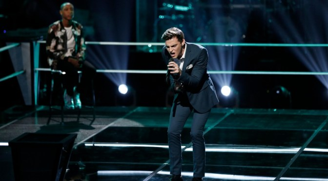 'The Voice' Artist Ricky Manning Readies For Live Playoffs With Team Gwen